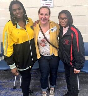 Volunteer.2018-10-29 Kempsville - Mentor Match Reveal