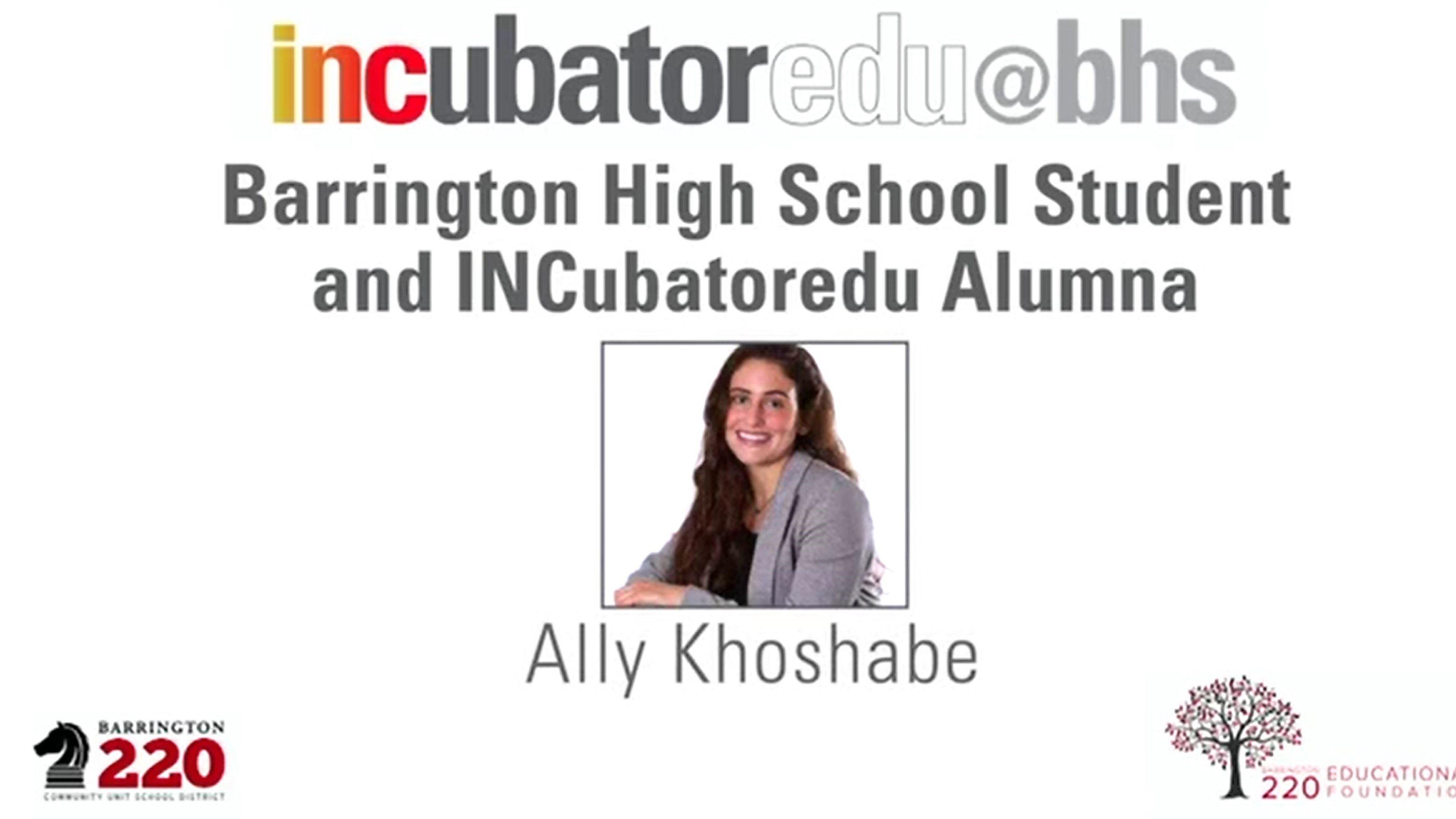 'My Experience with INCubatoredu' — 3-Minute Student Testimonial